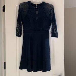 Black Skater dress Honey and Rosie - was $69